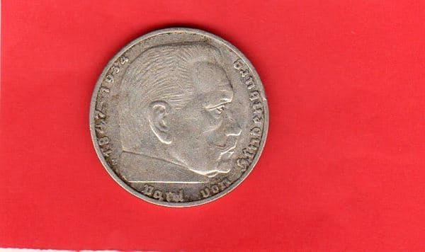 Moderne Münzen Deutsches Reich 1937 E 2 Reichsmark